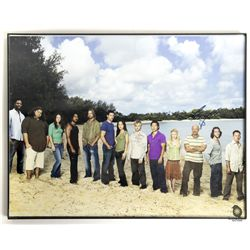 LOST Season 3 Cast Photo Signed by Terry O'Quinn