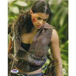 Michelle Rodriguez Signed Photo as Ana Lucia from LOST