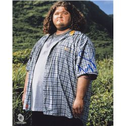 Jorge Garcia Signed Photo as Hurley from LOST
