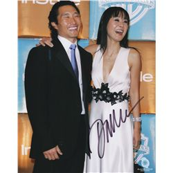LOST Cast Daniel Dae Kim Signed Photo with Yunjin Kim
