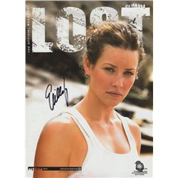 LOST Magazine Issue #2 with Collector's Edition Kate Cover Signed by Evangeline Lilly