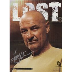 LOST Magazine Issue #5 with Collector's Edition John Locke Cover Signed by Terry O'Quinn