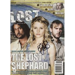 LOST Magazine Issue #11 Jul/Aug 2007 Signed by Emilie de Ravin