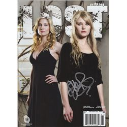 LOST Magazine Season 5 Special Edition Signed by Emilie de Ravin