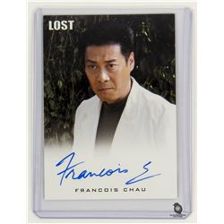 LOST Limited Edition Autograph Card for Dr. Chang