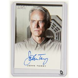 LOST Limited Edition Autograph Card for Christian Shephard