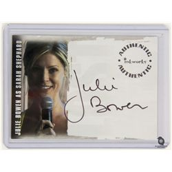LOST Sarah Shephard Trading Card Autographed by Julie Bowen