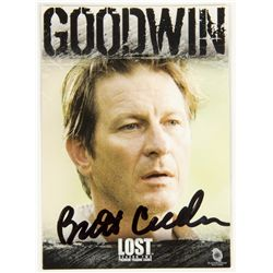 LOST Goodwin Trading Card Signed by Brett Cullen