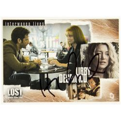 "LOST Desmond & Libby ""Interwoven Lives"" Trading Card Signed by Henry Ian Cusick"