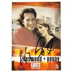 LOST Tragic Romances Desmond & Penny Trading Card Signed by Henry Ian Cusick