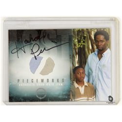 LOST Costume Card for Michael & Walt Signed by Harold Perrineau