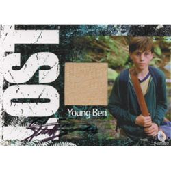 LOST Costume Trading Card for Young Ben Signed by Sterling Beaumon