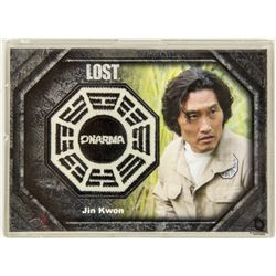 LOST Dharma Patch Costume Trading Card for Jin