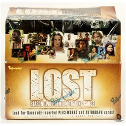 LOST Season 2 Premium Trading Card Boxed Set Sealed