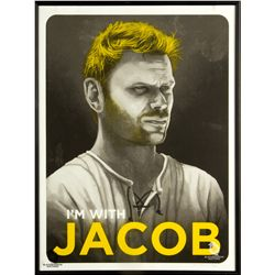 """I'm With Jacob"" Limited Edition LOST Art Print by Mike Mitchell"