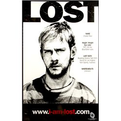 """I am Lost"" Poster Featuring Charlie from LOST"