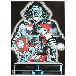 "LOST ARG Limited Edition ""Hurley's Curse"" Screen Print by Tim Doyle"