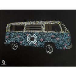 "LOST ARG Limited Edition ""The Dharma Van"" Screen Print by Methane Studios"
