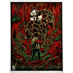 "LOST ARG Limited Edition ""The Smoke Monster"" Screen Print by Ken Taylor"