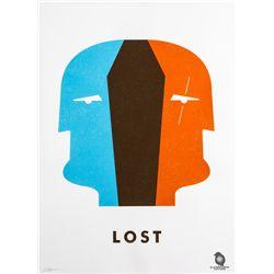 "LOST ""Dual Locke"" Screen Print by Ty Mattson"