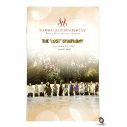 Original LOST Honolulu Symphony 2007 Concert Program