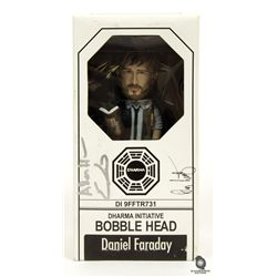 LOST Daniel Faraday Dharma Initiative Bobblehead Signed by Executive Producers
