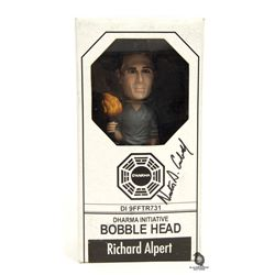 LOST Richard Alpert Dharma Initiative Bobblehead Signed by Nestor Carbonell