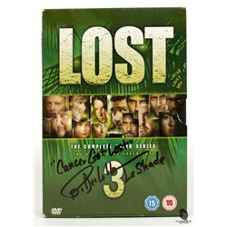 LOST Season 3 DVD Set Signed by Billy Dee Williams