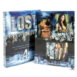 LOST Season 4 DVD Set Signed by Evangeline Lilly