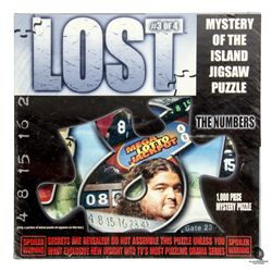 LOST The Numbers 1000-Piece Mystery Jigsaw Puzzle
