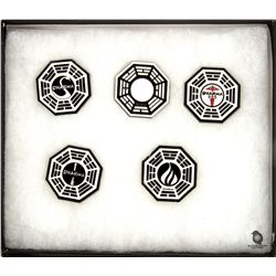 LOST Dharma Initiative Stations Pin Set