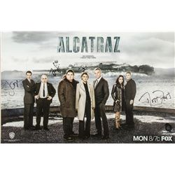 Alcatraz 2012 WonderCon Mini Poster Signed by Cast