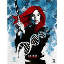 ALIAS Limited Edition Screen Print by Jason Edmiston