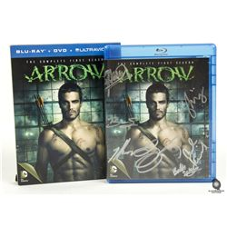 Arrow Season 1 Blu-ray Boxed Set Signed by Cast, Executive Producers & Writers