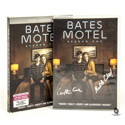 Bates Motel Season 1 DVD Signed by Nestor Carbonell & Carlton Cuse