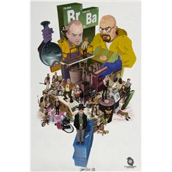 "Breaking Bad ""Br Ba"" Limited Edition Print by Justin Orr"