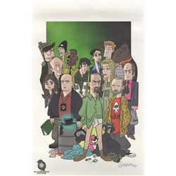 Breaking Bad Character Print by Stephen Silver