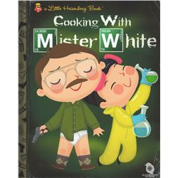 """Breaking Bad """"Cooking With Mister White"""" Little Heisenberg Book Giclée by Joey Spiotto"""
