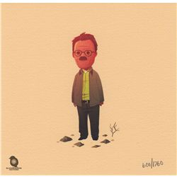 Set of 6 Breaking Bad Walter White Art Prints by Olly Moss
