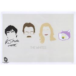 """Breaking Bad """"The White"""" Minimal Post Print Signed by RJ Mitte"""
