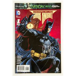 Legends of The Dark Knight #1 Comics Signed by Damon Lindelof