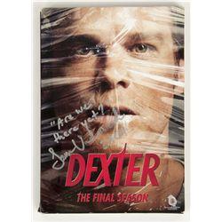 Dexter The Final Season DVD Signed by Sam Underwood