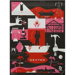 Dexter Season 4 Showtime Exclusive Poster by Ty Mattson