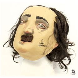 The Following Edgar Allan Poe Mask Signed by Cast