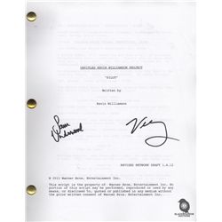 The Following Pilot Script Signed by Valorie Curry & Sam Underwood