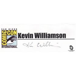The Following San Diego Comic Con 2014 Panel Cast Signed Name Placards
