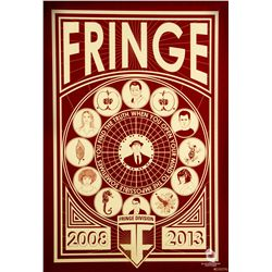 Fringe Anniversary Limited Edition Red Poster by Ian Knight