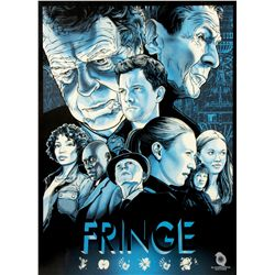 """Fringe """"Resist"""" Limited Edition Screen Print by Joshua Budich"""