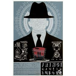 Limited Edition Fringe Celebration Poster by Ian Knight