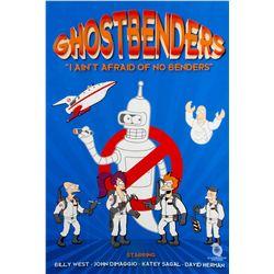 "Futurama ""Ghostbenders"" Limited Edition Digital Print by Ian Knight"